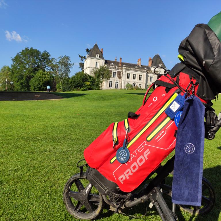 Serviette de golf bleue Le Bazar des GolfeursAccessoires