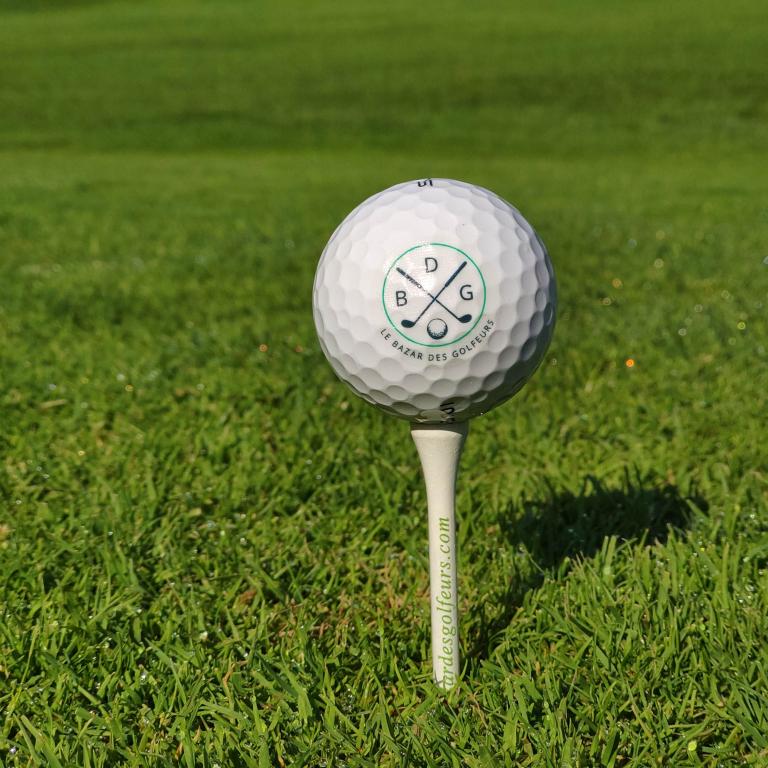 Tees blanc de golf Le Bazar des GolfeursAccessoires