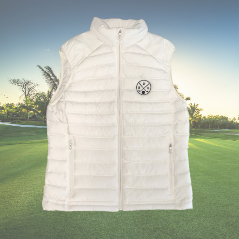 Doudoune de golf sans manche Femme Le Bazar des GolfeursTextile femme