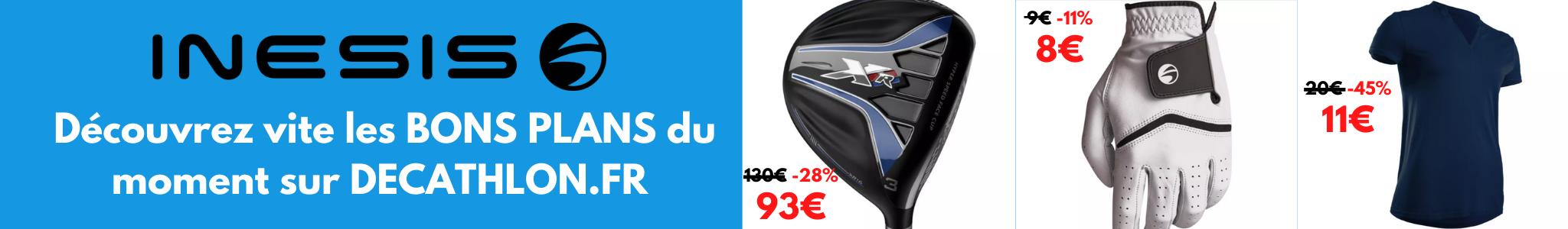 Les bons plans golf DECATHLON.fr