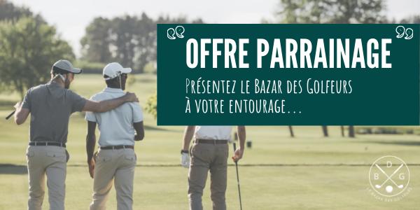 Parrainage Le Bazar des Golfeurs